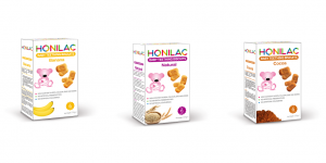 Honilac Baby Biscuits 3 flavours