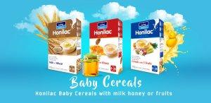 Honilac Baby Cereals Milk Honey Fruits